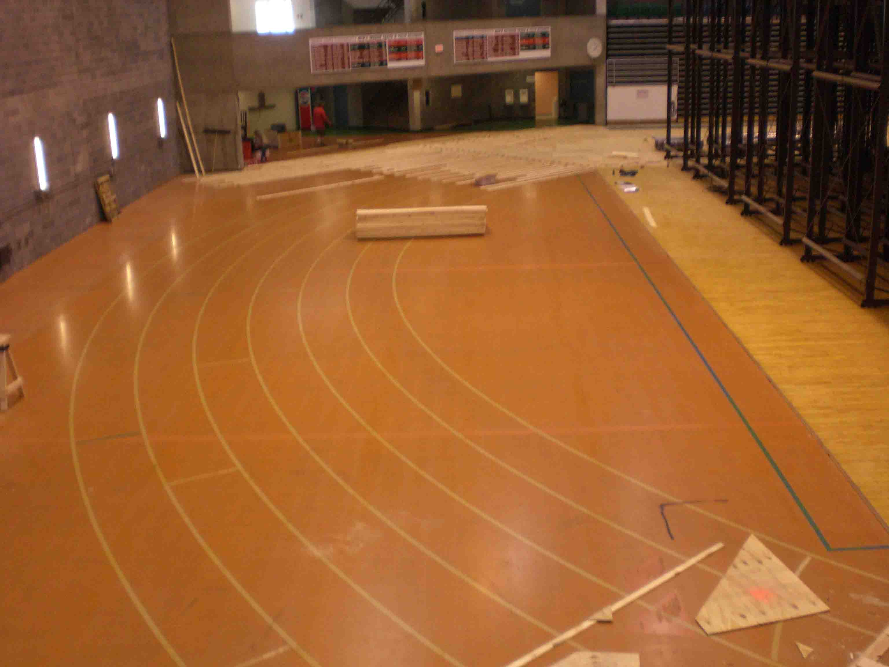 Indoor basketball court construction for Indoor basketball court installation