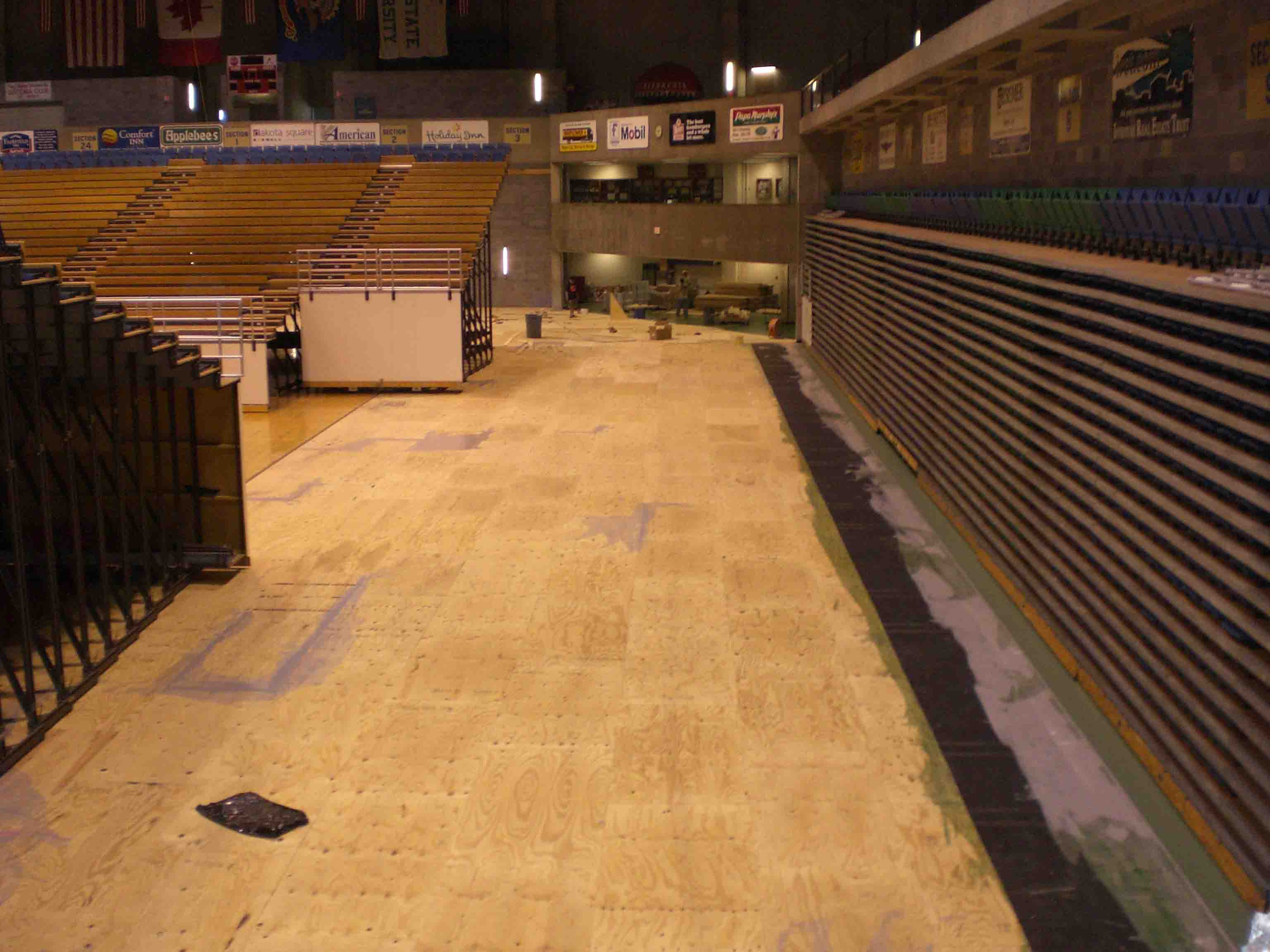 Multi Sports Flooring Resurfacing For Indoor Basketball Gyms - How much does a gym floor cost