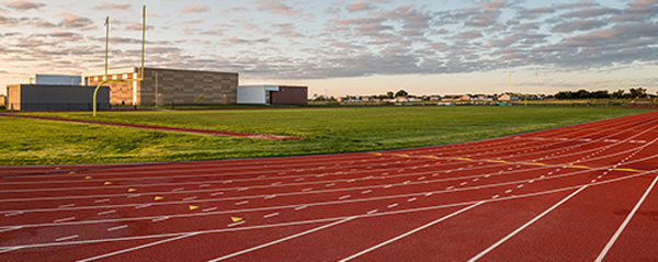 Outdoor Track Flooring | Athletic Rubber Floor Construction