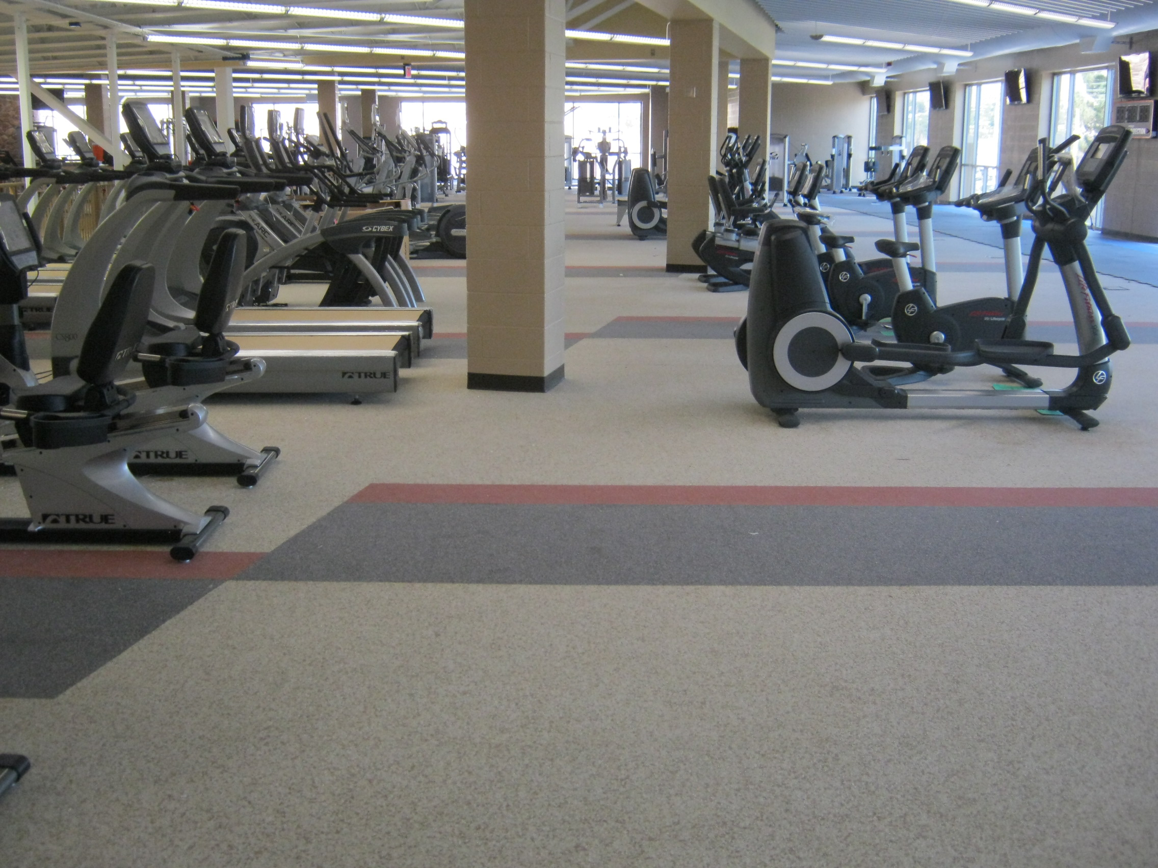 design flooring ahs and service cuninghamgroup floors weight room installation