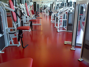fitness gym flooring